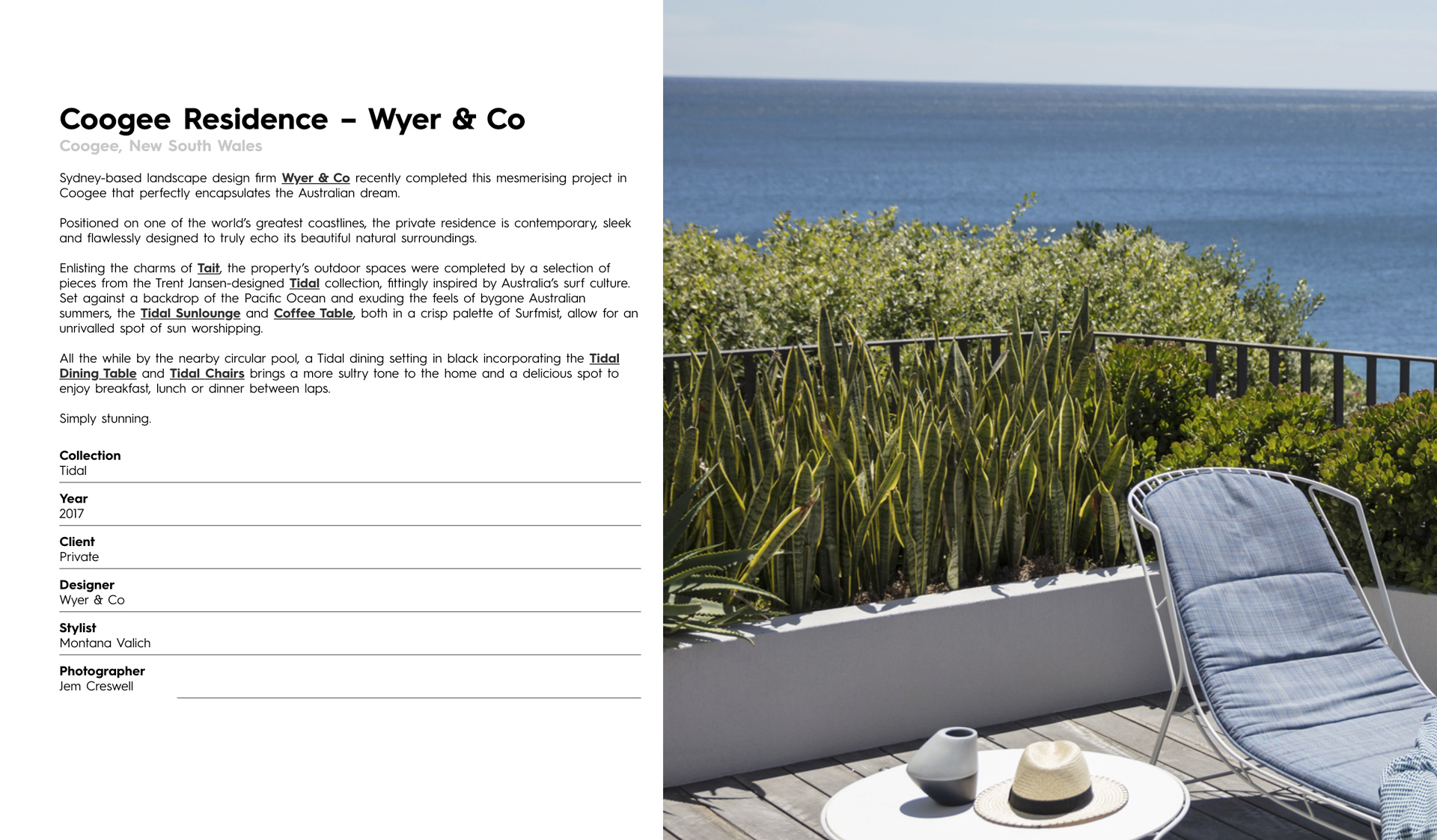 Coogee Residence – Wyer & Co